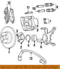 CHRYSLER OEM ABS Anti-lock Brakes-Front Speed Sensor 4509385