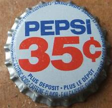 1 Kronkorken UNUSED PEPSI - COLA  35  CANADA  bottle caps  chapas tappo tappi