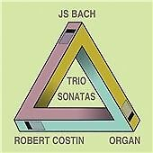Bach: Trio Sonatas for Organ, Robert Costin CD | 5060192780468 | New