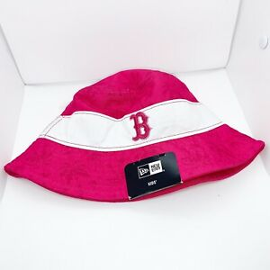 New era kids toddler bucket hat 100%authentic Pink Boston Red Sox Logo