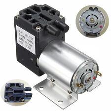 12V 6W Mini Vacuum Pump High Pressure Suction Diaphragm Pump with Holder 5L/min