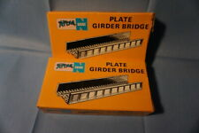 n-scale Lot of Atlas bridges, pilings and track items