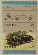 1939 Triumph Dolomite voiture timbres (les dirigeants du monde / auto 100)