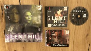 Silent Hill - Playstation 1 PS1 Spiel - 1999 - TOP Zustand