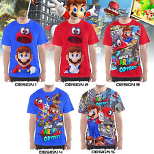 Super Mario Odyssey (PlayStation Nintendo game) - Custom T-Shirts / Jersey