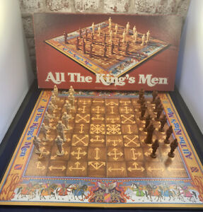 All The Kings Men Board Game Parker Brothers Vintage 1979 100% Complete