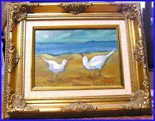 Peintures du XXe siècle et contemporaines huiles encadrés animaux