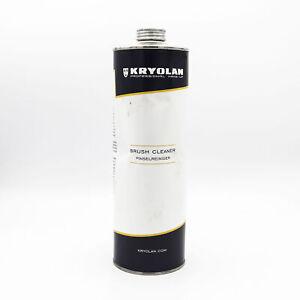 KRYOLAN Makeup Brush Cleaner 1000ml - NEW - Dented Bottle