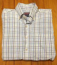 Vineyard Vines Murray Polo Shirt - Small - Blue Plaid Check - Preppy Southern