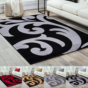 New Large (Sophia) Bedroom living Room Rug Carpet Runner Modern Floral Mats