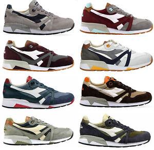 DIADORA HERITAGE N9000 H ITA S SW scarpe uomo sneakers pelle camoscio vintage