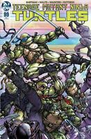 TEENAGE MUTANT NINJA TURTLES #99 AOD COLLECTABLES EXCLUSIVE CASTANEDA COVER IDW