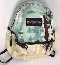 JanSport Backpack Book Bag Day Pack School  Artist Series Lightweight!