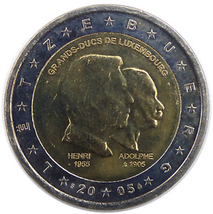 LUXEMBOURG 2 Euro 2005