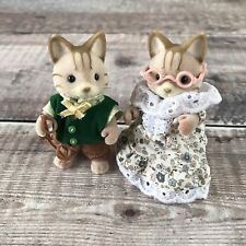 Sylvanian Families Macavity Cat Grandparents RARE UK Collectors Club Exclusive