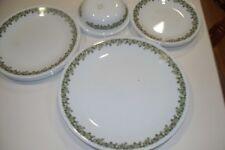 20 Piece Vintage Corelle Crazy Daisy Spring Blossom Dinnerware Set no mugs