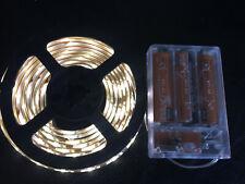 2m long, 120 WARM WHITE LED, 3AA Battery Powered Waterproof LED Light Strip