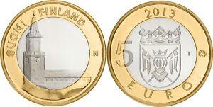 Finlande 5 euro 2013 - Province Proper Finland - Cathédrale de Turku UNC