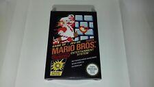 Super Mario Bros - PAL  - Nintendo  - NES - Only Box