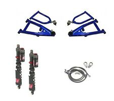 LSR Lone Star DC-4 Long Travel A-Arms Elka Stage 5 Front Shocks Kit Banshee 350