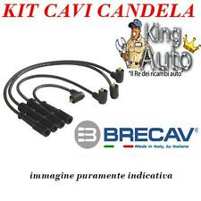 KIT CAVI CANDELA BRECAV 06.547 FIAT PANDA UNO LANCIA Y10 MOTORI FIRE