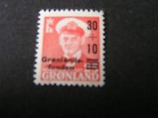 Greenland, Scott # B2, Complete Single Set 1959 Semi-Postal Issue Mvlh