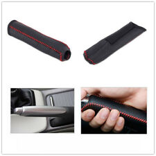 Hand Brake Leather Cover Protective Sleeve Fit For Honda Civic 04-11 Stitching