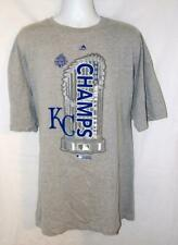 NEW NWOT Mens or Womens sz 5XL Unisex KANSAS CITY ROYALS Gray Graphic Tee Shirt