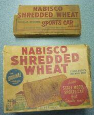 1950's Nabisco Shredded Wheat Model Sports Car Box