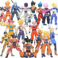 Dragon Ball Z Super Saiyan God Son Goku Vegetto Vegeta Trunks PVC Action Figures
