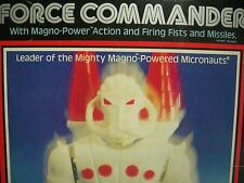 R0594531 FORCE COMMANDER MICRONAUTS 100% COMPLETE 1977