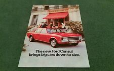 February 1972 FORD CONSUL - UK BROCHURE - FA704 - STANDARD L GT ESTATE