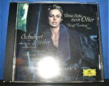 Anne Sofie Von Otter Schubert: Lieder CD Apr-1998, DG Deutsche Grammophon