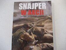 SNAJPER  W  AKCJI  SNIPER  RIFLE K98  MAUSER    POLISH BOOK  POLAND RADOM