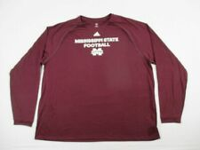 NEW adidas Mississippi State Bulldogs - Men's Long Sleeve Shirt (4XL)