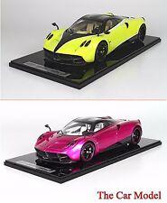 stock Pagani Huyara Flash Pink, Yellow w/ Display Case Ltd 20 pcs BBR 1/12
