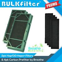 2PACK Replacement Holmes HEPA Filter HAPF30 + 4pk Prefilter  HAPF30d