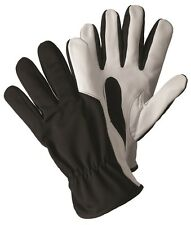 Briers Large Super Soft Strong Black Leather Gardening Gloves Outdoors Classic