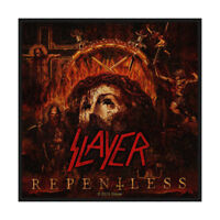 SLAYER Repentless Woven Sew On Patch Official Licensed Band Merch Metal Thrash