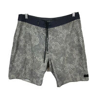 Ripcurl Mirage Mens Board Shorts Size 32 Swim Shorts Grey Good Condition
