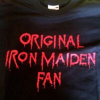 IRON MAIDEN official ITALIAN Fans Club EDDIE'S  t-shirt  Heavy Metal 2004 size M