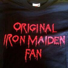 IRON MAIDEN official ITALIAN Fans Club EDDIE'S  t-shirt  Heavy Metal 2004 size M