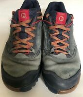 Merrell Sneakers Shoes Mens 11 Blue Wing Low Top Lace Up Hiking Trail