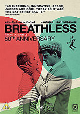 Breathless [DVD] [1960], DVD | 5055201811011 | New