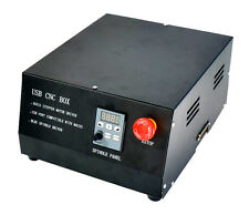 CNC 4 Axis USB MACH3 Control Box Spindle Driver Controller For Engraving Machine