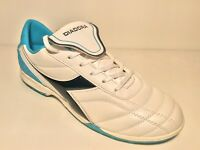 DIADORA 750 II TF C3064 White/BLUE  SCARPA CALCETTO
