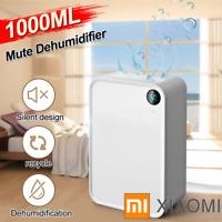 XIAOMI Portable 1L Home Dehumidifier Bedroom Basement Air Dryer Mini Moisture