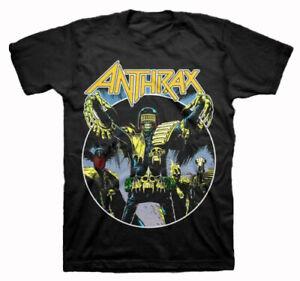 New Anthrax Judge Dredd Movie Sci-fi Action T-shirt Unisex Short tee S-3XL