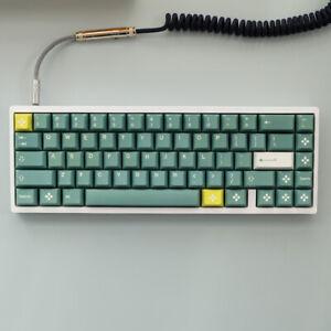 Dandelio Green PBT Keycaps 125 Keys Caps For MX Mechanical Keyborad Caps