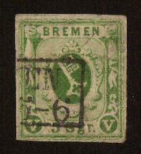 Bremen 4a Freimarke gestempelt